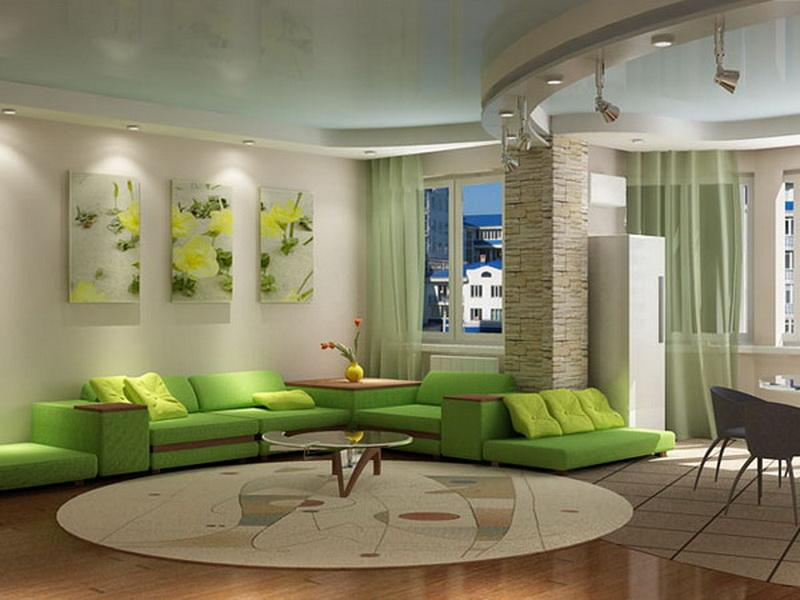 Liven Up Your Room Decoration With Colorful Sofas
