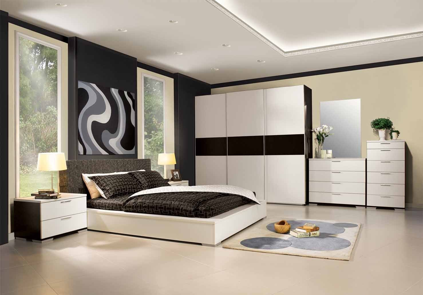 HOW TO DECORATE THE BEDROOM AT CONTEMPORARY STYLE WITH HOME ...