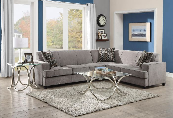 500727 Coaster Furniture Sectional Sofa Lyns Furniture Miami -