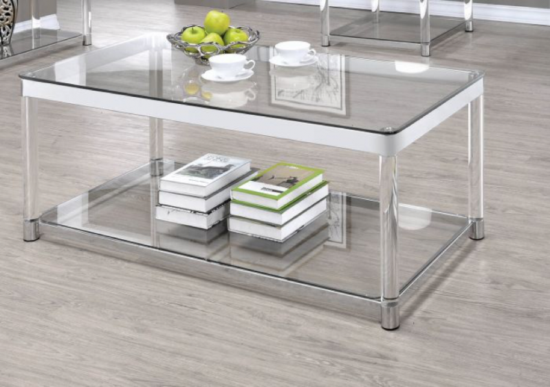 ... Small Rectangular Living Room Is A Good Option To Have A Glass  Auxiliary Table. It Will Not Only Make Your Living Room Look Bigger But It  Will Also Give ...