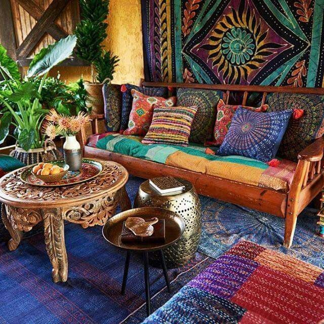 Groovy The Keys To A Hippie Style Decoration Interior Design Ideas Tzicisoteloinfo