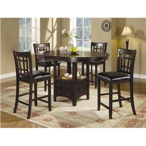 5PC SET (TBL+4STOOLS)