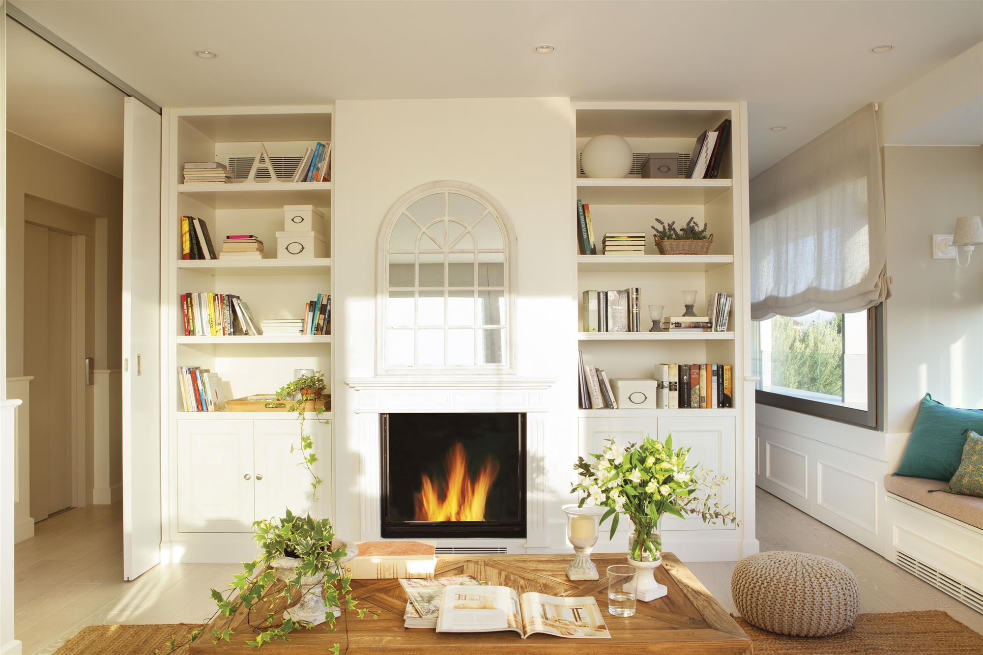 3 wonderful tips to decorate your living room - Chimeneas de obra ...